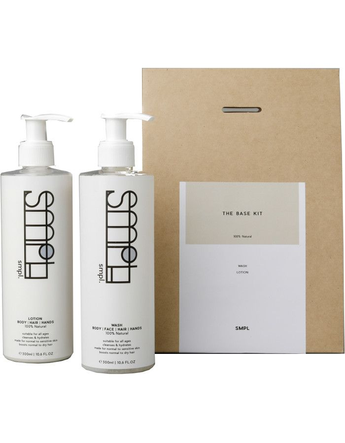 SMPL Skincare The Base Kit 2-Delig