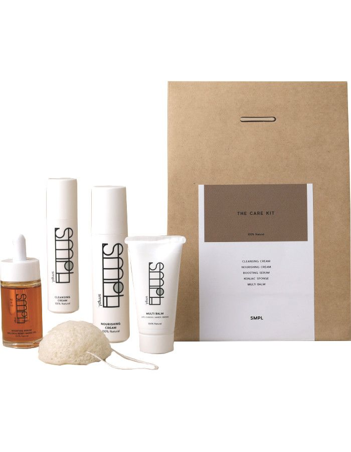 SMPL Skincare The Care Kit 5-Delig