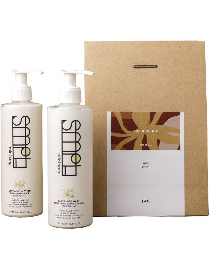 SMPL Skincare The Kids Kit 2-Delig