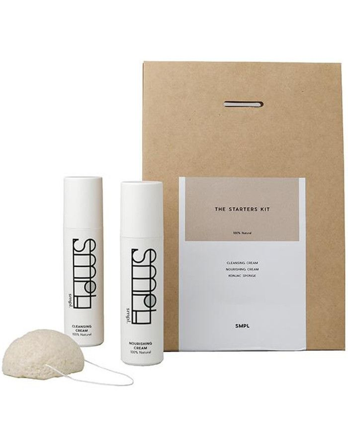 SMPL Skincare The Starters Kit 3-Delig