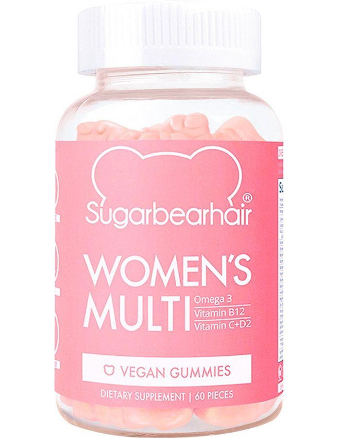 Sugarbearhair Womans Multi Vegan Gummies 60st