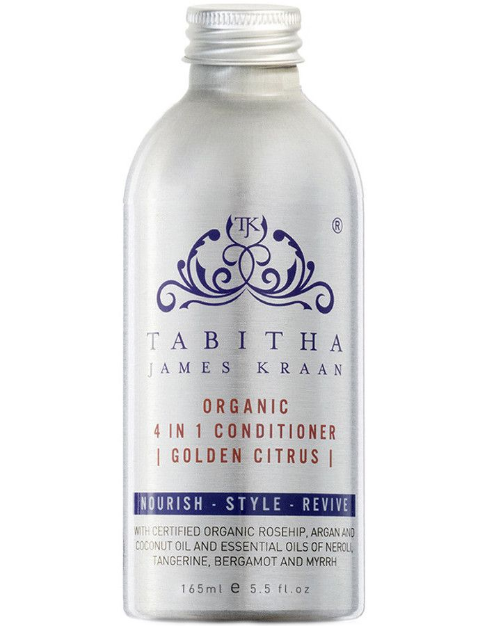 Tabitha James Kraan 4 in 1 Conditioner Golden Citrus 165ml Navulling Zonder Pomp