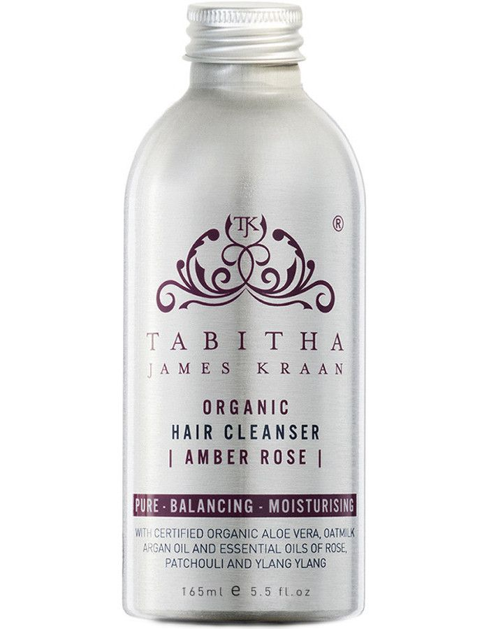 Tabitha James Kraan Hair Cleanser Amber Rose 165ml Navulling Zonder Pomp