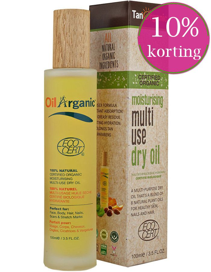 TanOrganic Moisturising Multi Use Dry Oil 100ml
