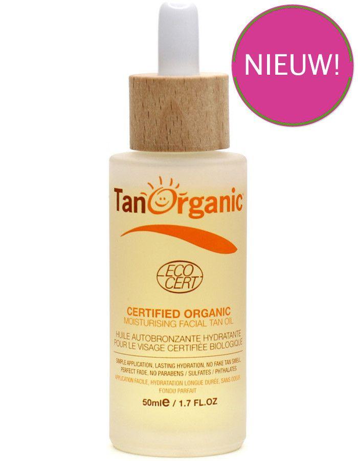 TanOrganic Moisturising Selftanning Facial Oil 50ml