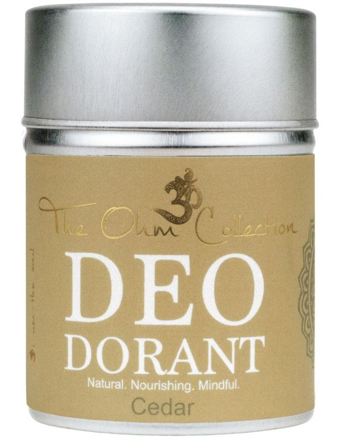 The Ohm Collection Deodorant Poeder Cedar 120gr