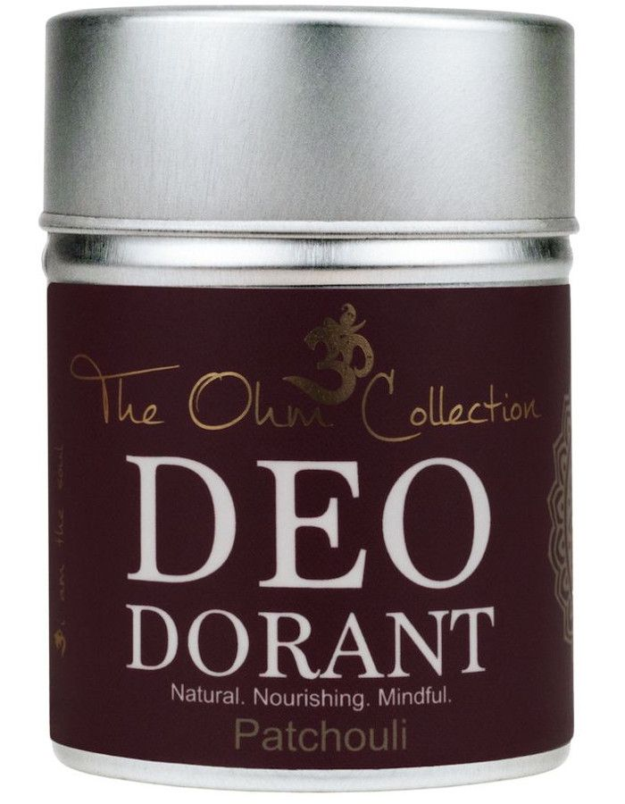 The Ohm Collection Deodorant Poeder Patchouli 120gr