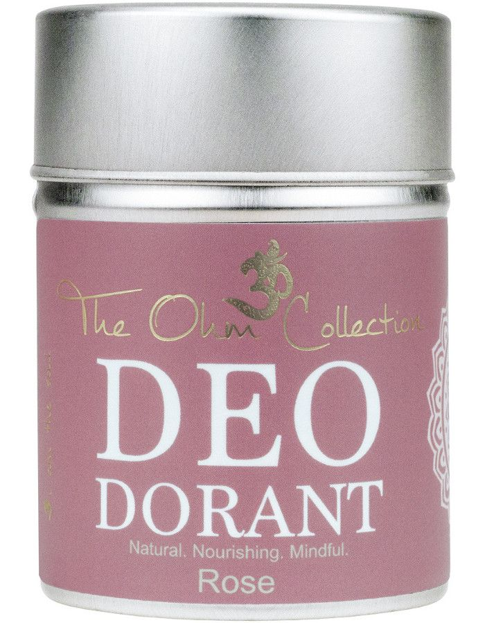 The Ohm Collection Deodorant Poeder Rose 120gr