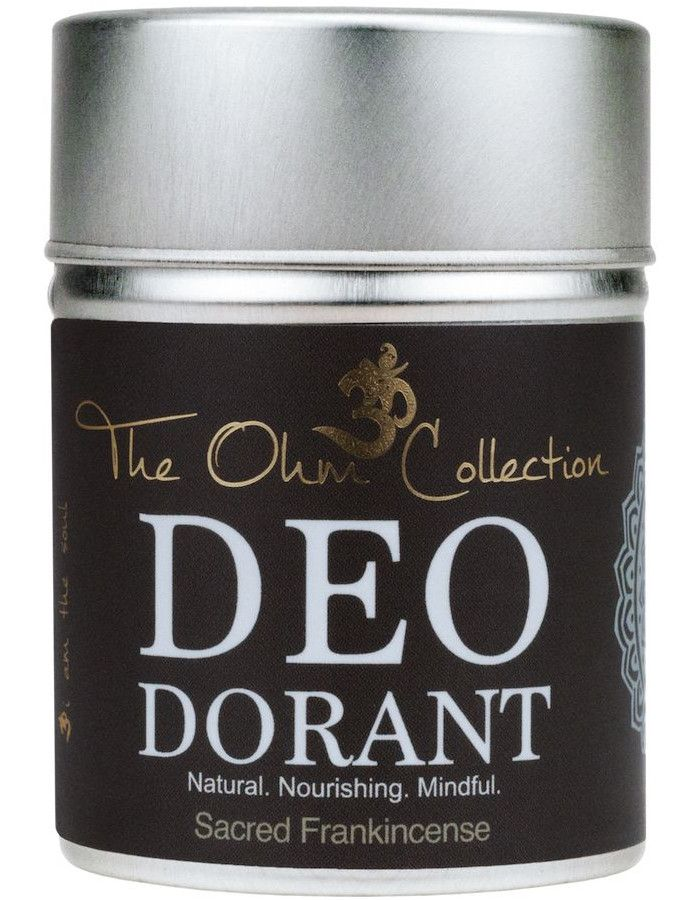The Ohm Collection Deodorant Poeder Sacred Frankincense 120gr