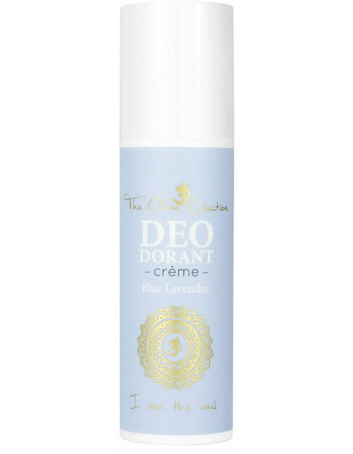 The Ohm Collection Vegan Deodorant Creme Blue Lavender 50ml