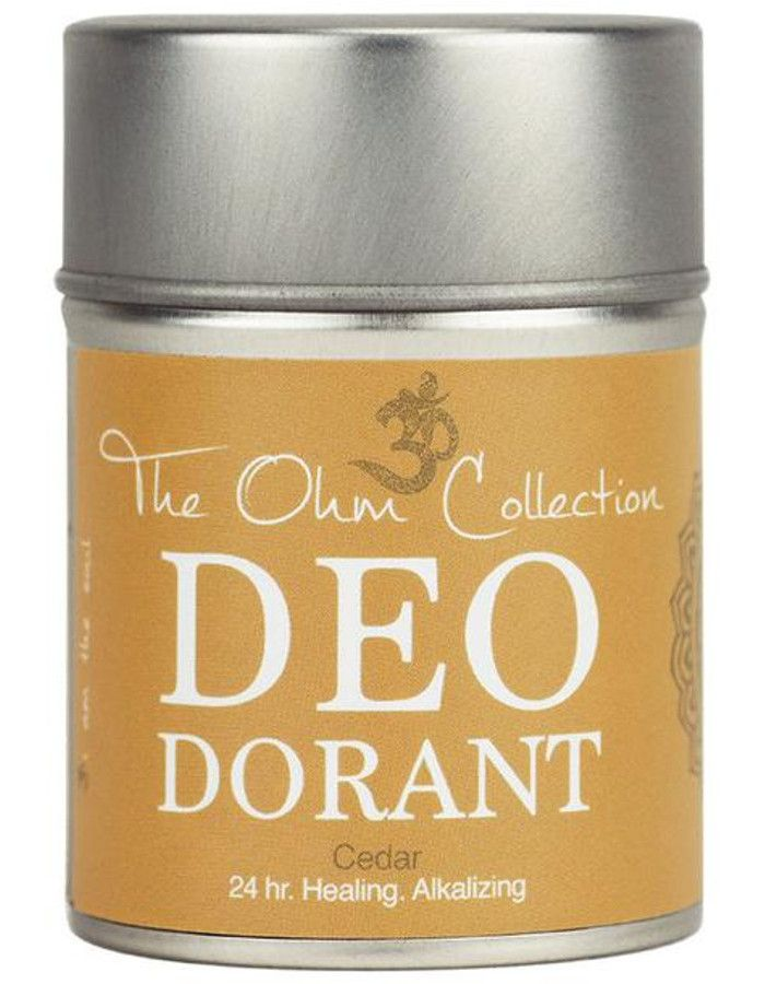 The Ohm Collection Deodorant Poeder Cedar