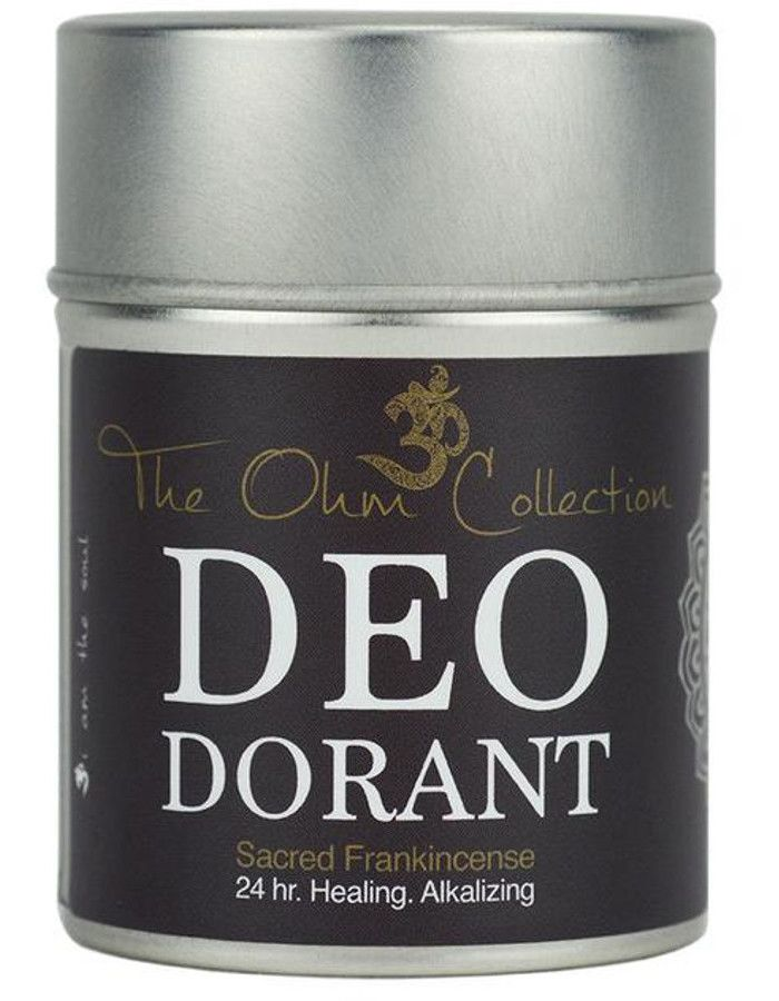 The Ohm Collection Deodorant Poeder Sacred Frankincense
