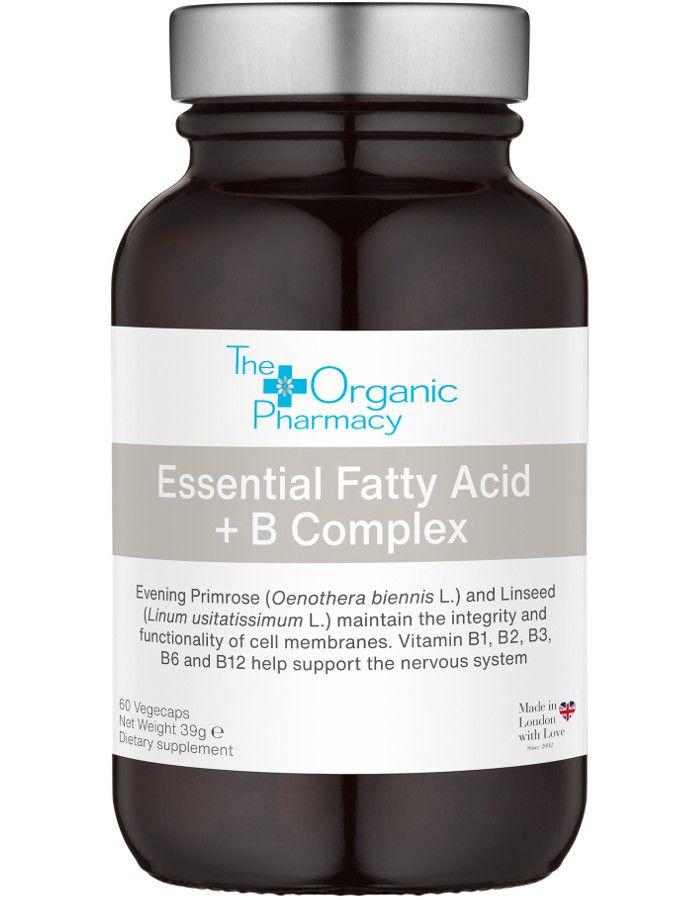The Organic Pharmacy Essential Fatty Acid + B Complex Vegecaps 60st
