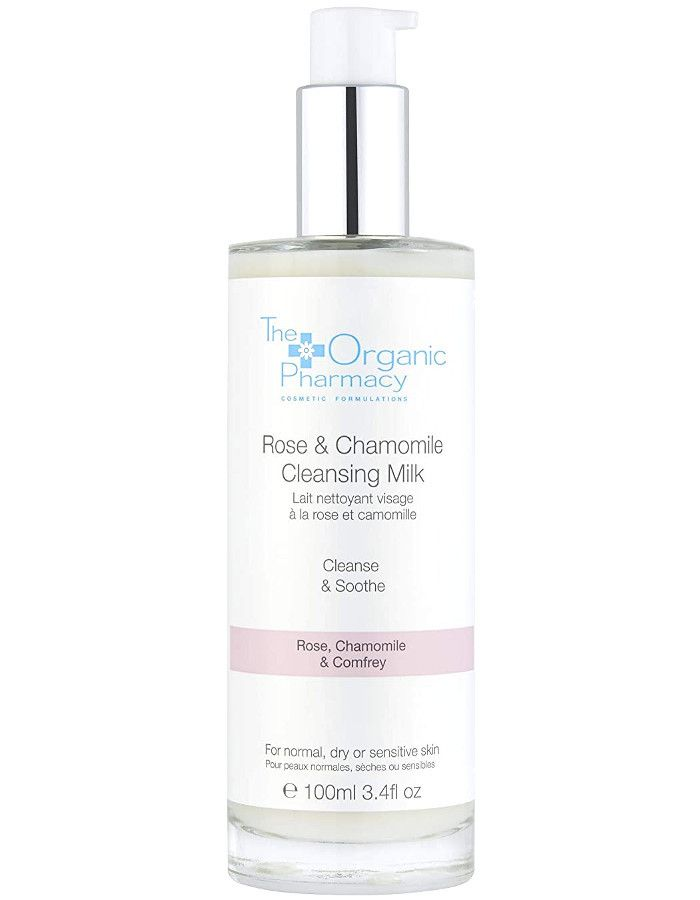The Organic Pharmacy Rose & Chamomile Cleansing Milk 100ml