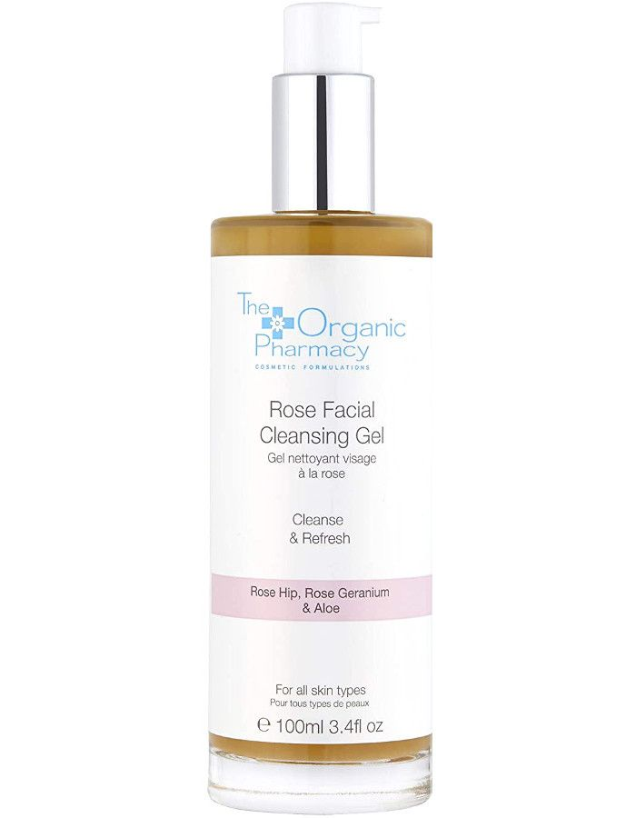 The Organic Pharmacy Rose Facial Cleansing Gel 100ml
