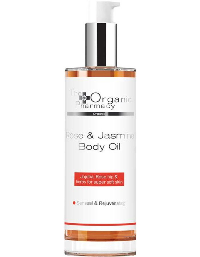 The Organic Pharmacy Rose & Jasmine Body Oil 100ml