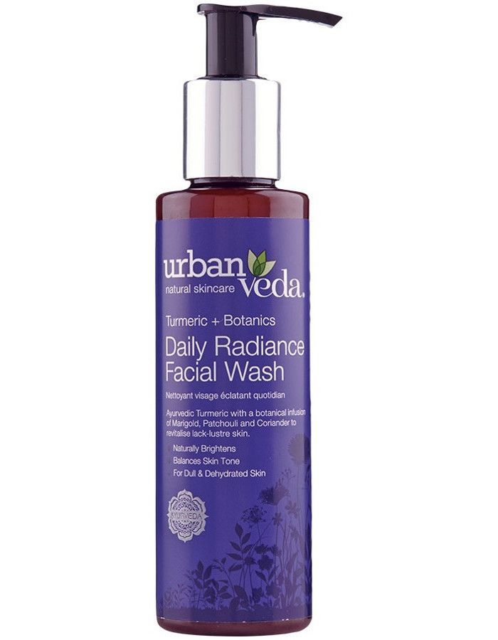 Urban Veda Daily Radiance Facial Wash 150ml