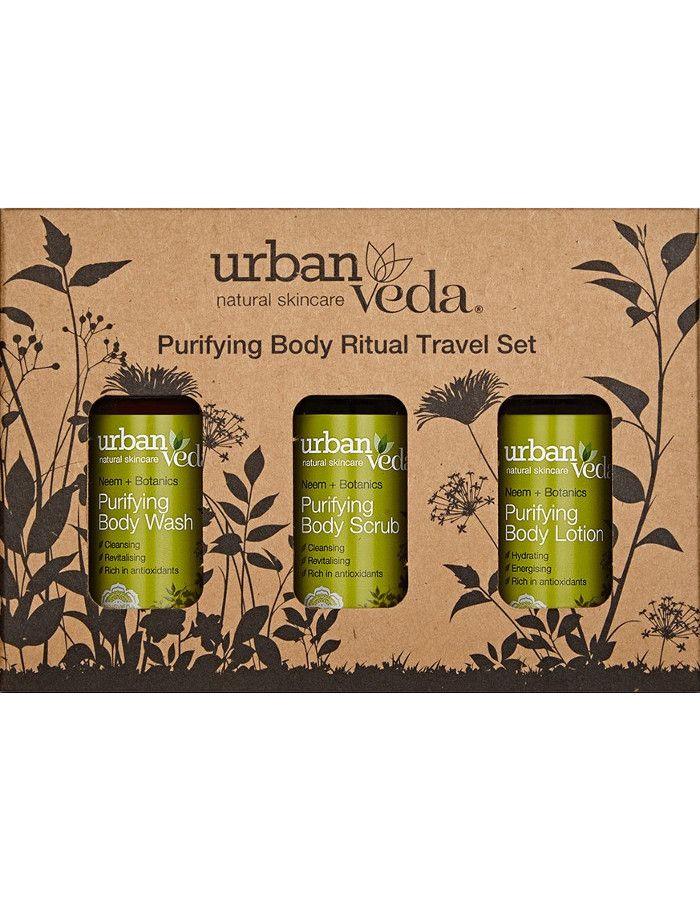 Urban Veda Purifying Body Ritual Travel Set 3-Delig