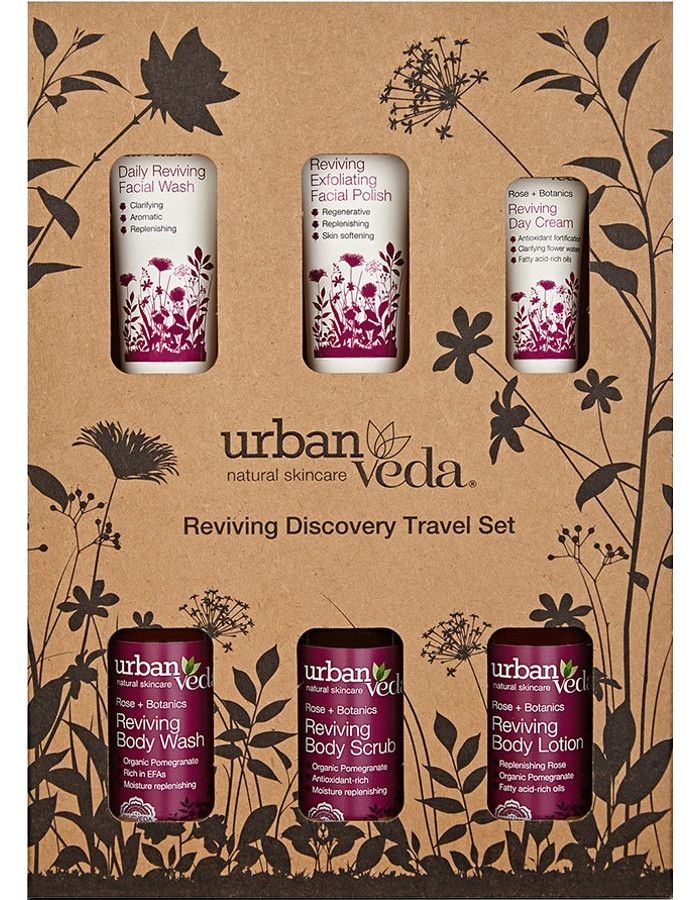 Urban Veda Reviving Discovery Travel Set 6-Delig