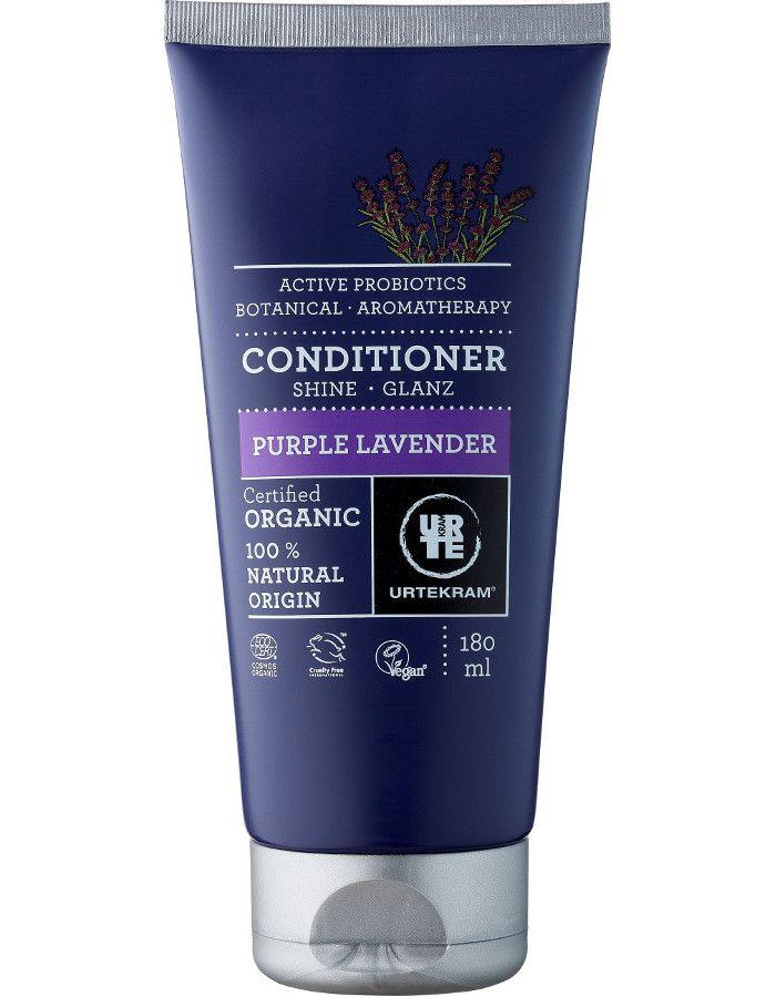 Urtekram Conditioner Purple Lavender Extra Glans Dof Haar 180ml