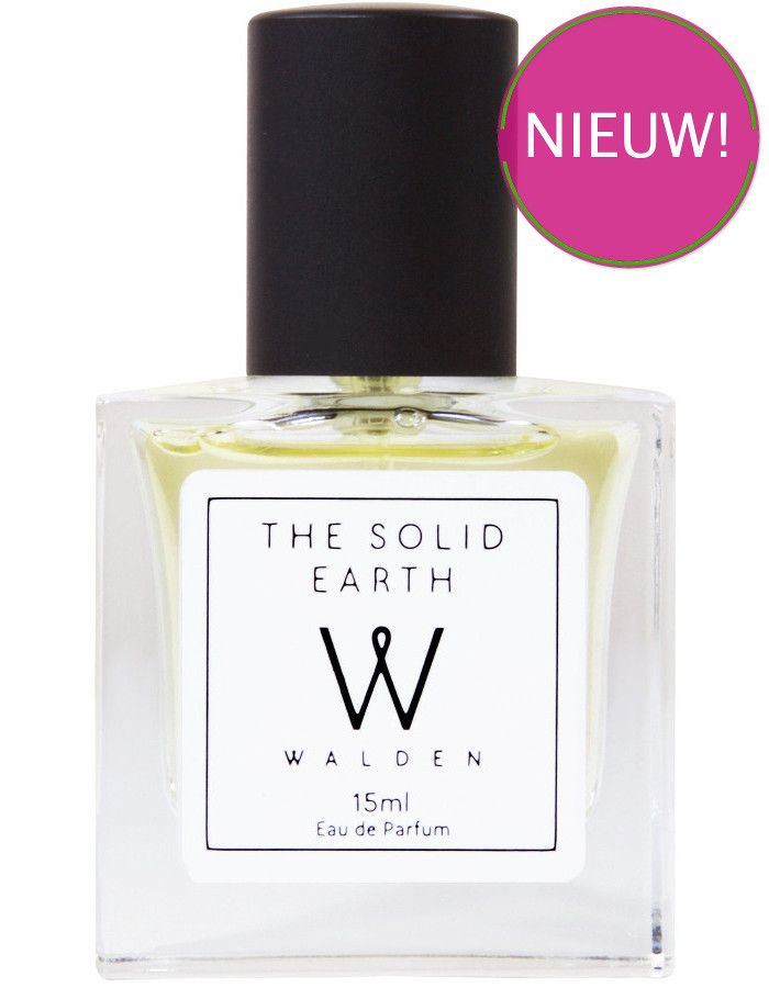 Walden Natural Perfumes The Solid Earth Eau De Parfum Spray Tasverstuiver 15ml