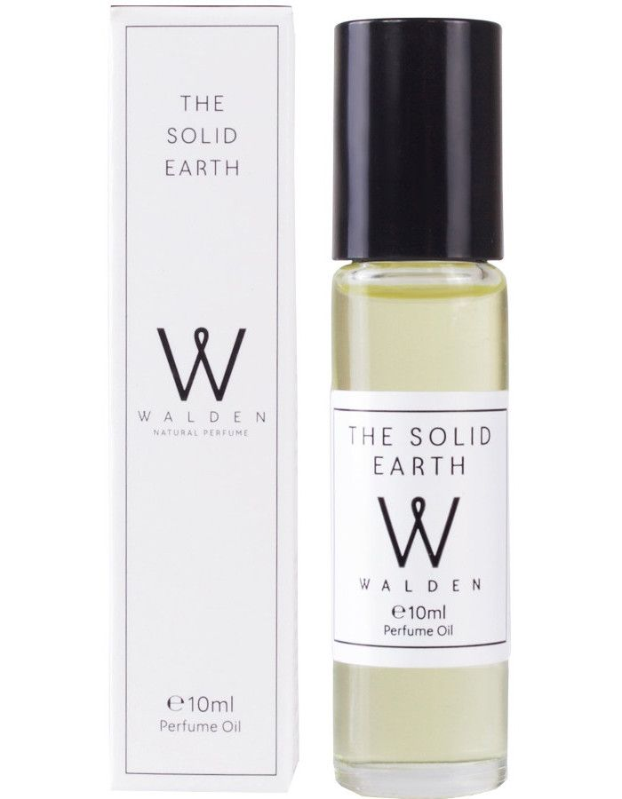 Walden Natural Perfumes The Solid Earth Parfum Olie Roller 10ml