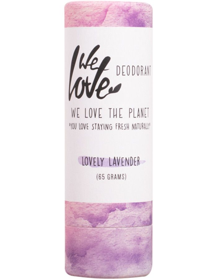 We Love The Planet Natuurlijke Deodorant Stick Lovely Lavender