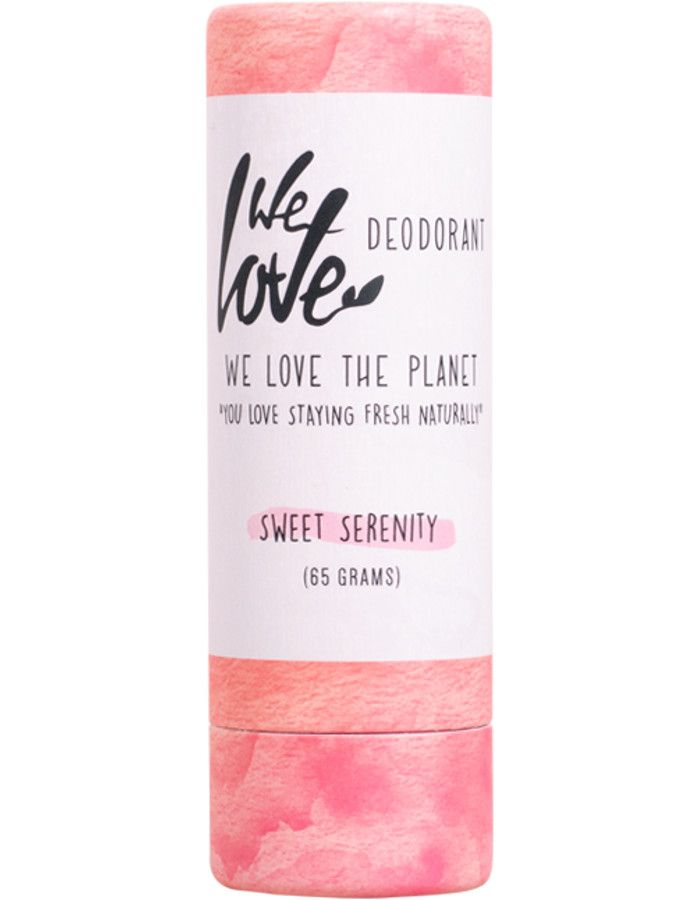 We Love The Planet Natuurlijke Deodorant Stick Sweet Serenity