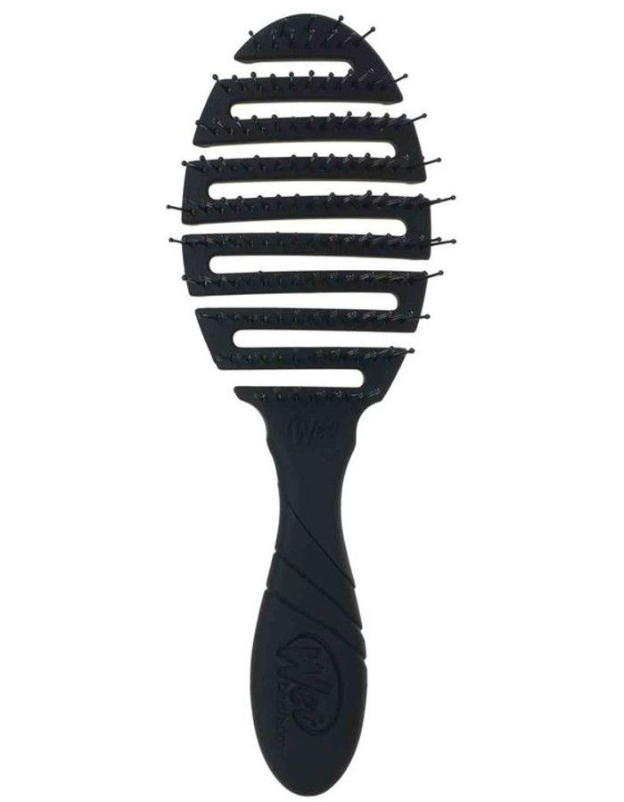 WetBrush PRO Flex Dry Anti-Klit Haarborstel Black 736658955767