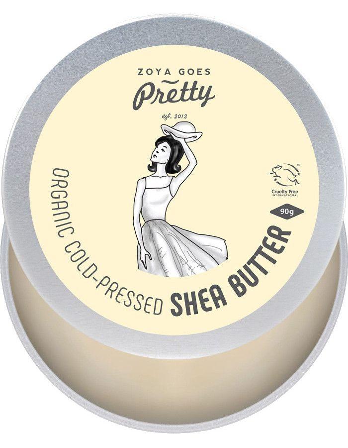 Zoya Goes Pretty Koudgeperste Organic Shea Butter 90gr