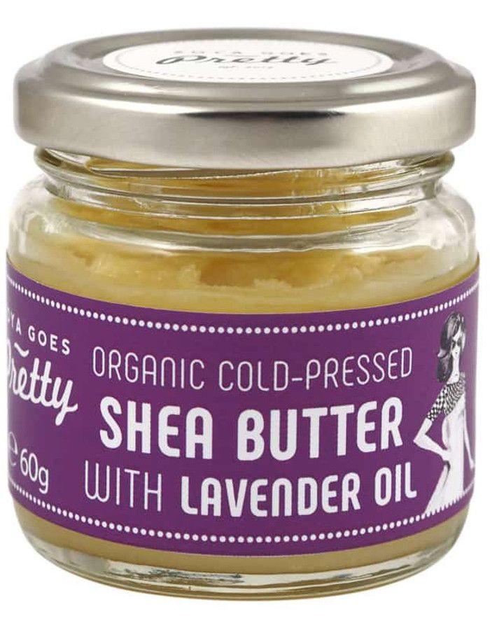 Zoya Goes Pretty Koudgeperste Organic Shea Butter & Lavender Oil 60gr
