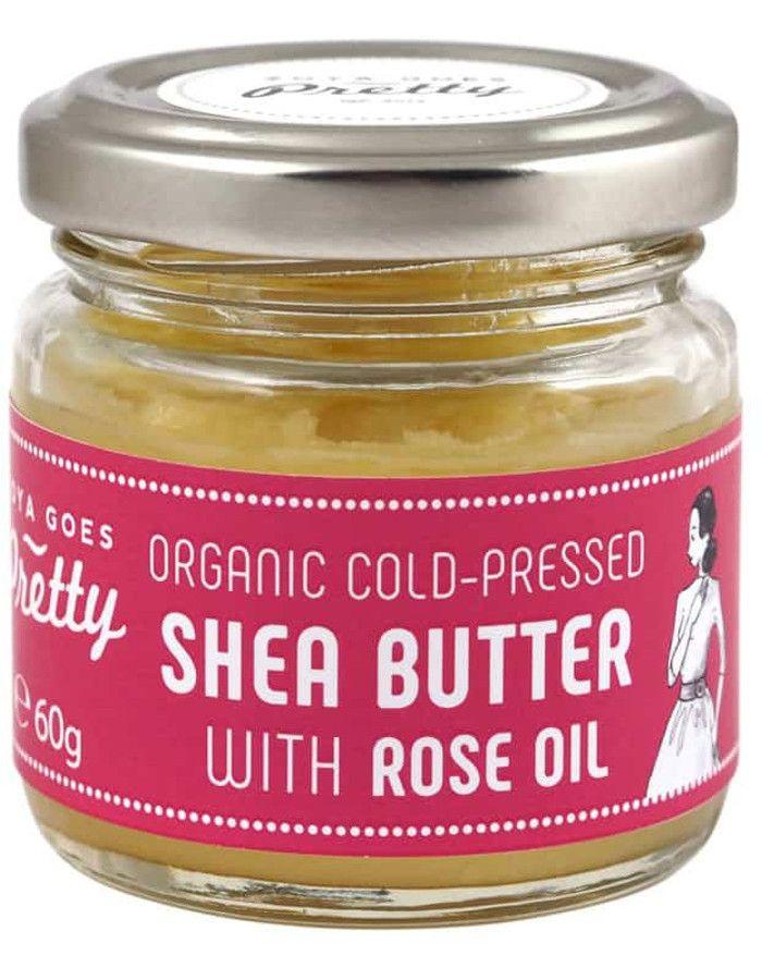 Zoya Goes Pretty Koudgeperste Organic Shea Butter & Rose Oil 60gr