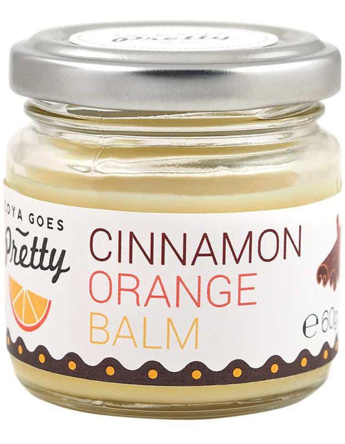 Zoya Goes Pretty Koudgeperste Shea Butter Balsem Cinnamon Orange 60gr