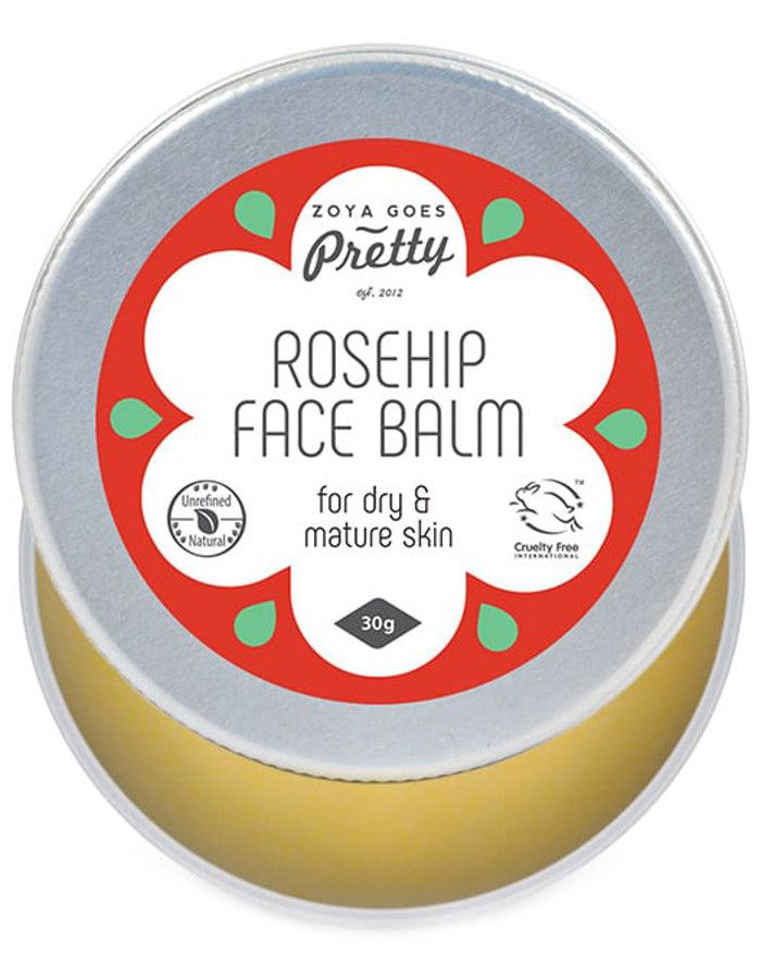 Zoya Goes Pretty Koudgeperste Shea Butter Face Balsem Rosehip 30gr
