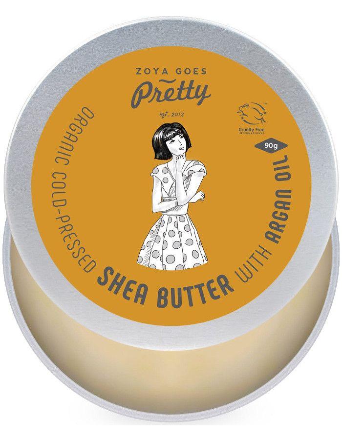 Zoya Goes Pretty Organic Koudgeperste Seabutter Balsem Argan Oil 90gr