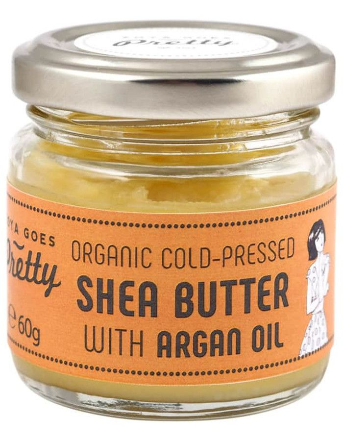 Zoya Goes Pretty Organic Koudgeperste Seabutter Balsem Argan Oil 60gr