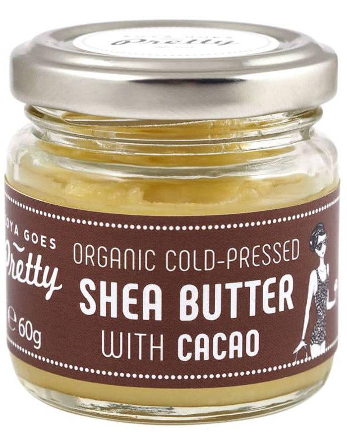 Zoya Goes Pretty Organic Koudgeperste Seabutter Balsem Cacao 60gr