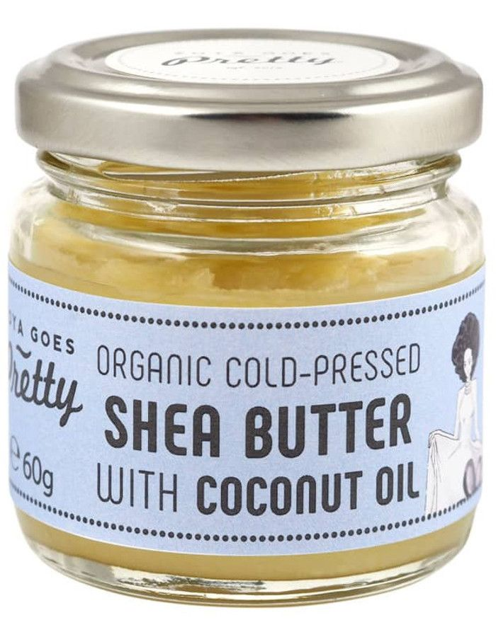 Zoya Goes Pretty Organic Koudgeperste Seabutter Balsem Coconut Oil 60gr