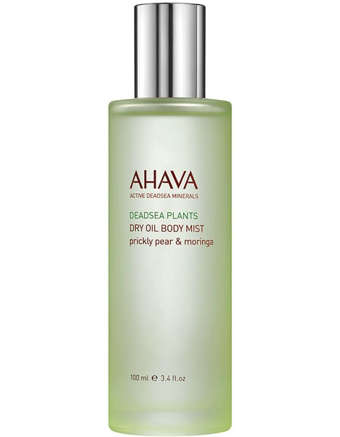 Ahava Deadsea Plants Dry Oil Body Mist Prickly Pear Moringa 100ml