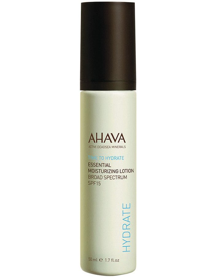 Ahava Time To Hydrate Essential Moisturizing Lotion Spf15 50ml