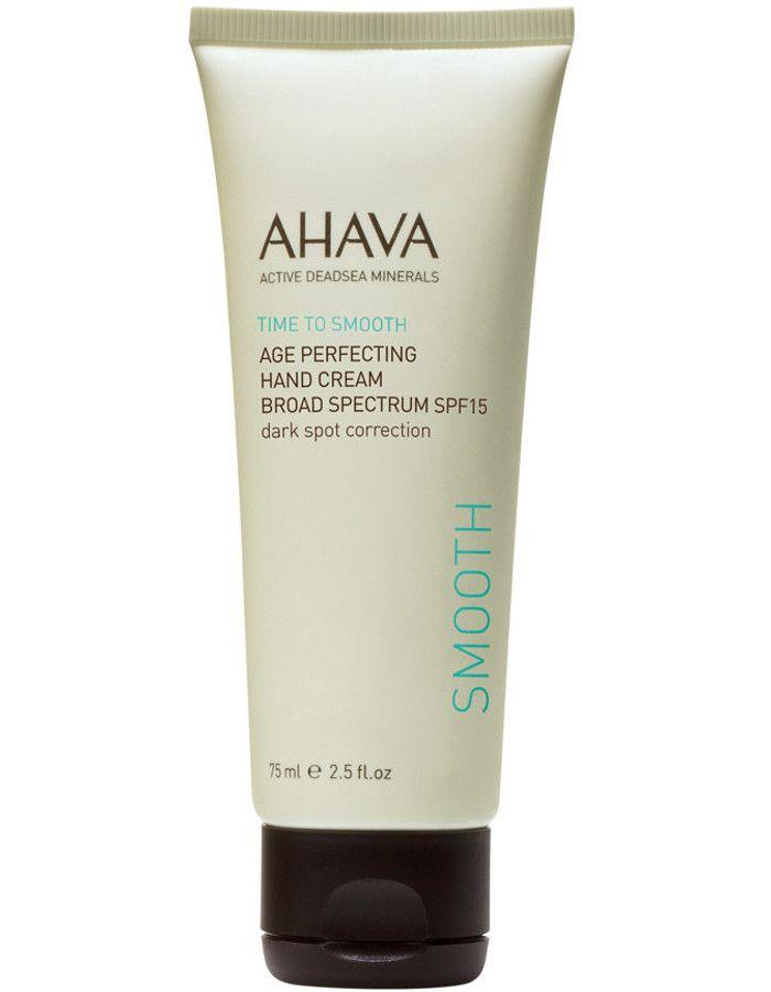 Ahava Time To Smooth Age Perfecting Hand Cream Spf15 Dark Spot Correction 75ml