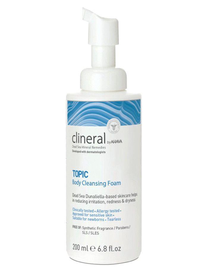 Ahava Clineral Dead Sea Mineral Remedies TOPIC Body Cleansing Foam 200ml