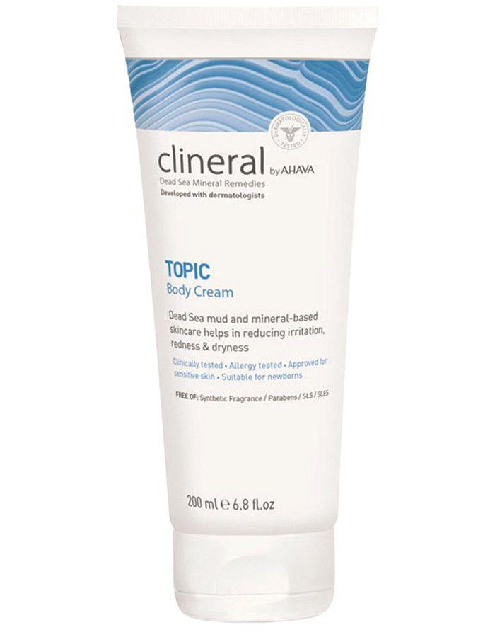 Ahava Clineral Dead Sea Mineral Remedies TOPIC Body Cream 200ml