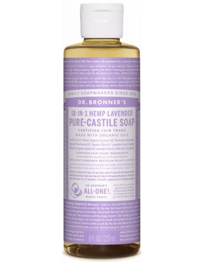 Dr Bronners All In One Liquid Soap Lavender 237ml