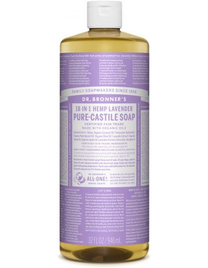 Dr Bronners All In One Liquid Soap Lavender 946ml