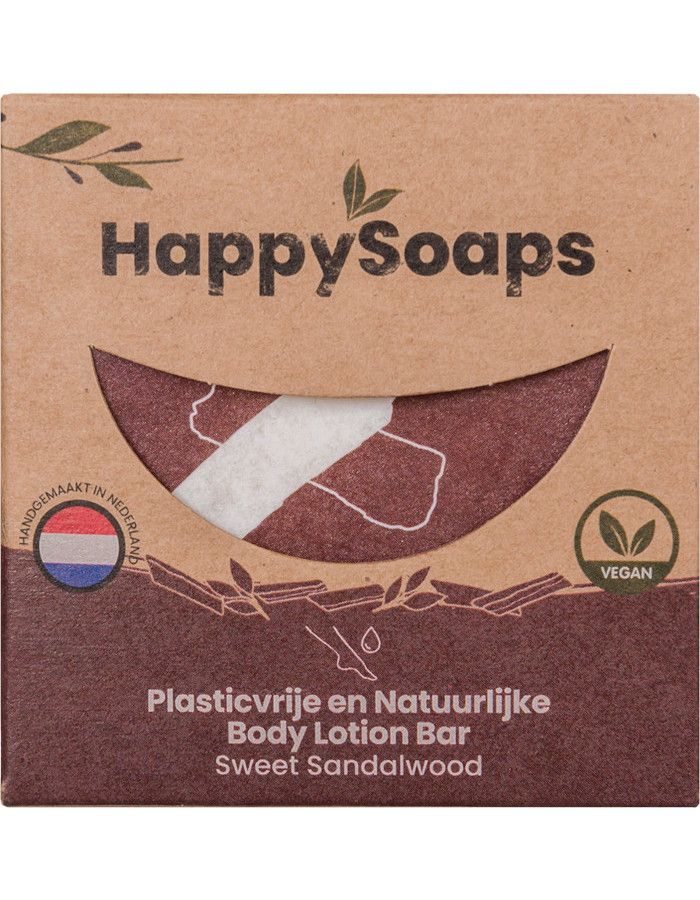 HappySoaps Body Lotion Bar Sweet Sandalwood 65gr