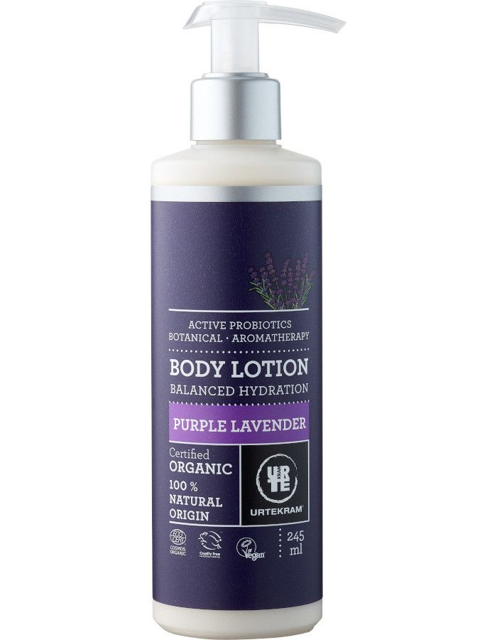 Urtekram Bodylotion Purple Lavender 245ml