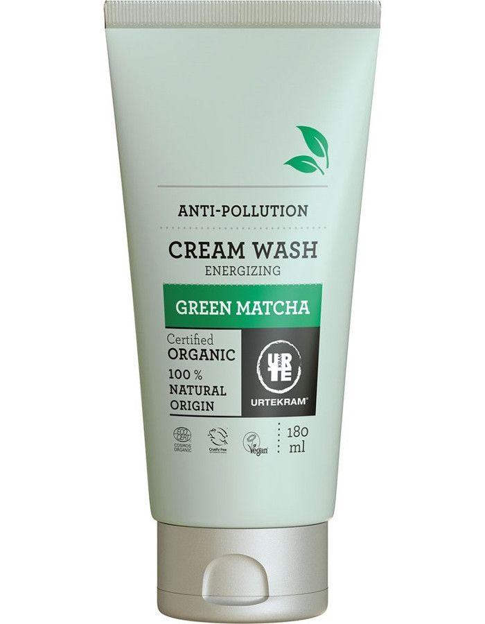 Urtekram Green Matcha Energizing Cream Wash 180ml