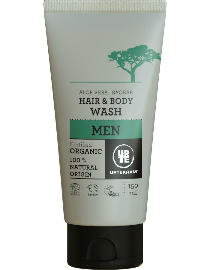 Urtekram Haar en Bodywash For Men 150ml
