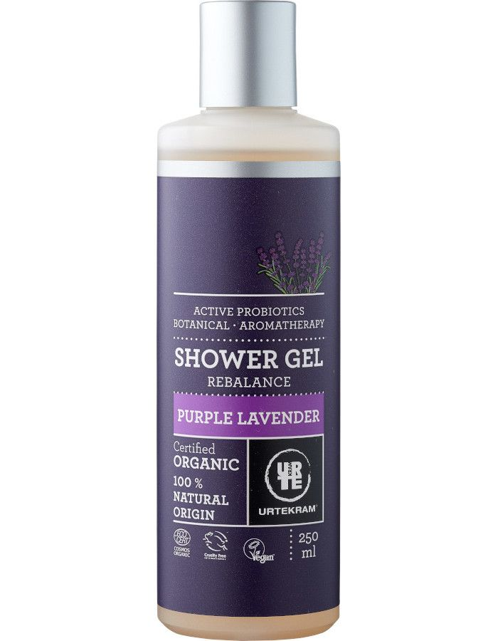 Urtekram Showergel Purple Lavender 250ml